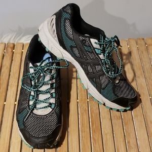 OAsics Gel Trail Attack 7 women's 8.5 black/green